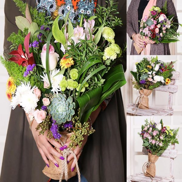 گل رمانتیک دانمارکی ده شاخه