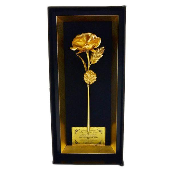گل رز طلایی و لاکچری